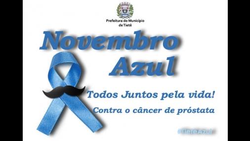 Prefeitura de Tietê adere ao Novembro Azul