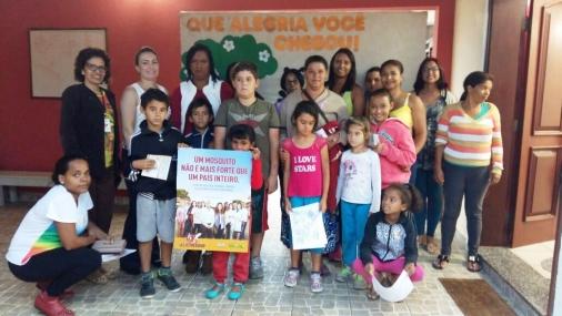 CRAS Rosas realiza oficina sobre Vida Saudável
