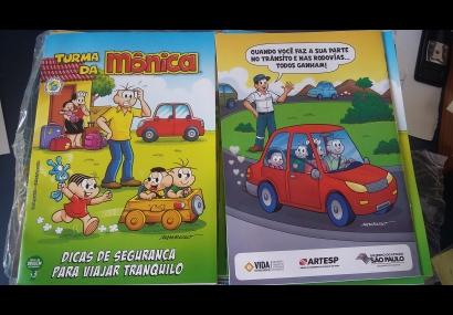 Gibis de Conscientização de Trânsito da ARTESP