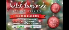 Natal Iluminado em Laranjal Paulista