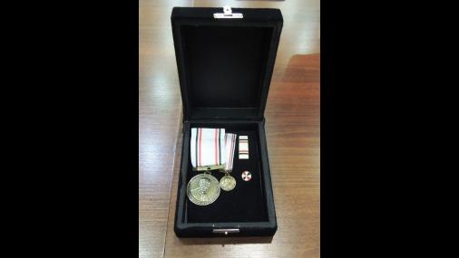 Prefeito recebe medalha Governador Pedro de Toledo