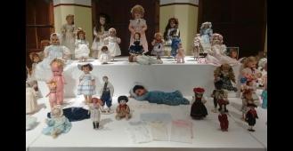 Exposição de bonecas antigas em Piracicaba