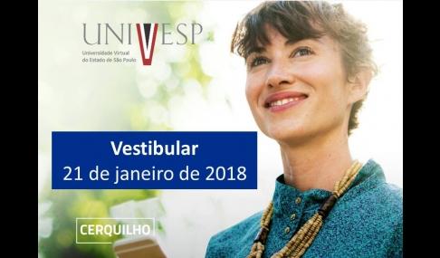 Locais de prova do vestibular Univesp 2018 são divulgados