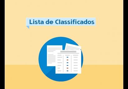 Secretaria da Educação divulga lista de classificação do estágio