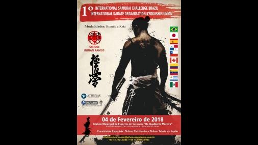 1º Internacional Challenger Samurai Brazil