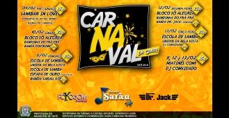 Programação de Carnaval em Tietê