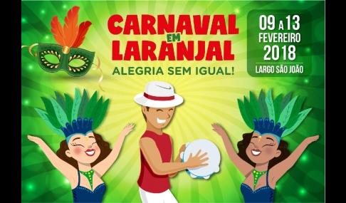 Carnaval em Laranjal, alegria sem igual!