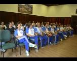 Prefeito recebe delegação de atletas da melhor idade