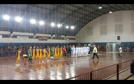 Futsal Cerquilho e Magnus Futsal (sub20) fazem jogo emocionante
