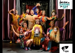 Teatro Municipal recebe Musical Cabaret Fucô