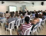 Pais da EMEBE participam de palestra sobre saúde bucal