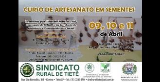 Sindicato Rural de Tietê promoverá curso de Artesanato em Semente