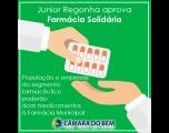 Junior Regonha aprova �Farmácia Solidária� para Tietê