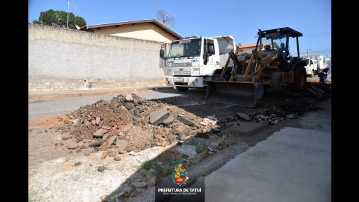 Prefeitura inicia obras no Tomás Guedes