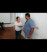 Agentes do setor de combate a dengue participam de treinamento