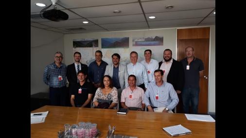 Representantes do SAAEC se reúnem com Secretário do Meio Ambiente