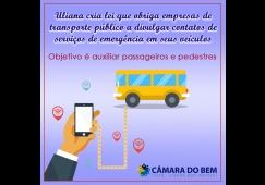 Lei obriga divulgação de endereços e telefones em veículos