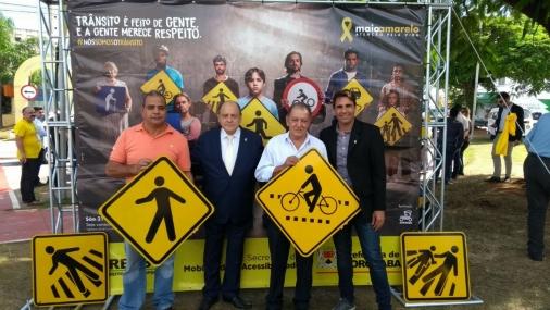 Tietê participa de Evento do Maio Amarelo