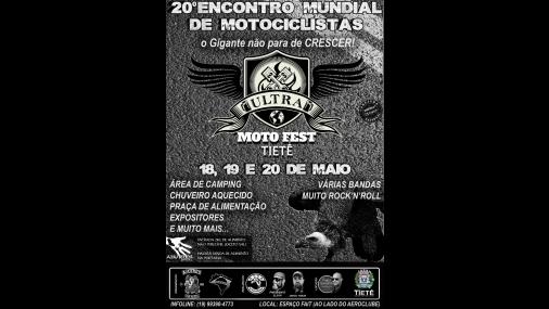 20º edição do Ultra Motofest em Tietê