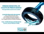 Semana Municipal de Coleta de Pneus usados