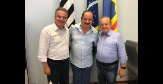 Cerquilho recebe visita do Deputado Federal Samuel Moreira