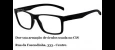 Doe sua armação de óculos usada