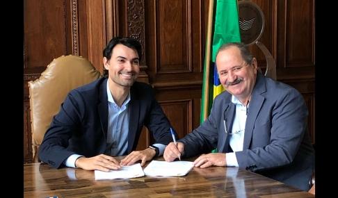 Prefeito de Cerquilho assina Convênio para Jogos Regionais