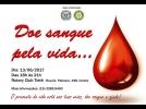 Campanha de doação de sangue acontece no Rotary Clube