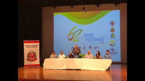 Sorteios dos Jogos Regionais são realizados em Cerquilho