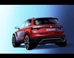 Volkswagen divulga teaser do novo T-Cross
