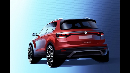 Volkswagen divulga teaser do novo T-Cross