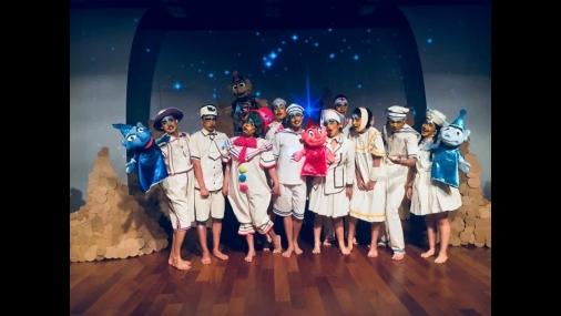 Trupe de Teatro Garagem & Cia se apresentará no céu das artes