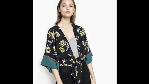 Digno das passarelas: Kimonos!