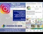 Câmara lança novo canal de comunicação: Instagram