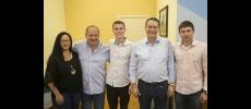 Deputado Federal Vitor Lippi visita a Prefeitura de Cerquilho