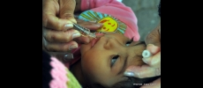Campanha de vacinação contra a pólio e sarampo em Tatuí