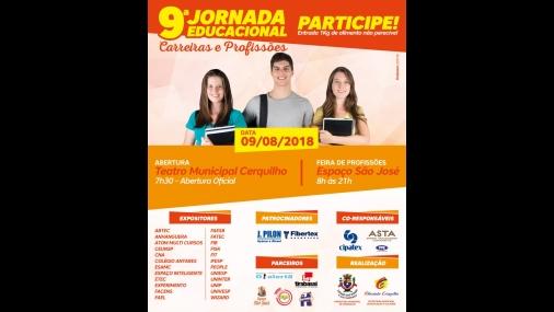 9ª Jornada Educacional �Carreiras e Profissões�