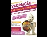 Campanha de Vacinação contra a Poliomielite e contra o Sarampo