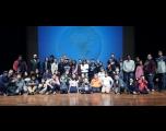 Intercambista musical dá workshop para alunos do Projeto Guri