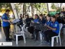 Música na praça em Tatuí