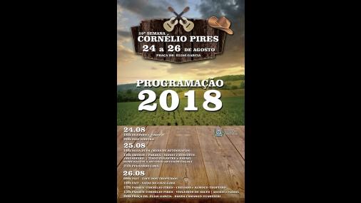 Secretaria de Turismo e Cultura realiza 59ª Semana Cornélio Pires
