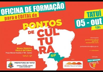 MUSEU SEDIARÁ OFICINA DE FORMAÇÃO DA SECRETARIA DA CULTURA