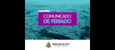 Informações sobre o feriado de finados em Tatuí