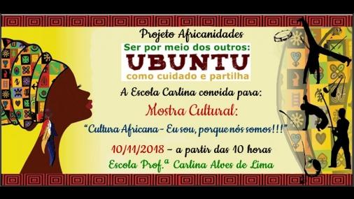 """Escola Carlina realiza evento """"Africanidades"""""""