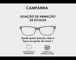 Campanha de Doação de Armação de Óculos