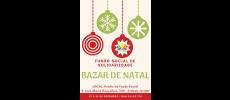 Bazar de Natal do Fundo Social de Solidariedade tem data marcada