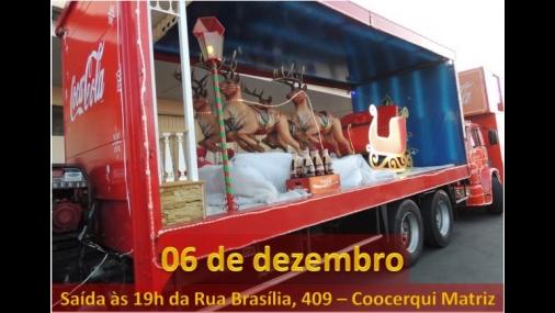 Caravana da Coca-Cola passará por Cerquilho nesta quinta-feira