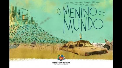"""Cinema Ponto Mis apresenta o filme """"O Menino e o Mundo"""""""
