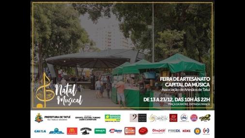 """Feira de artesanato """"Capital da Música"""""""