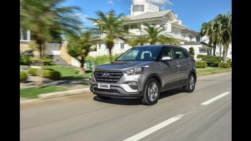 Hyundai Creta fecha 2018 na liderança dos SUVs compactos